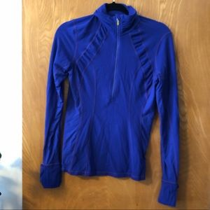 LULULEMON 1/4 zip athletic pull over 8